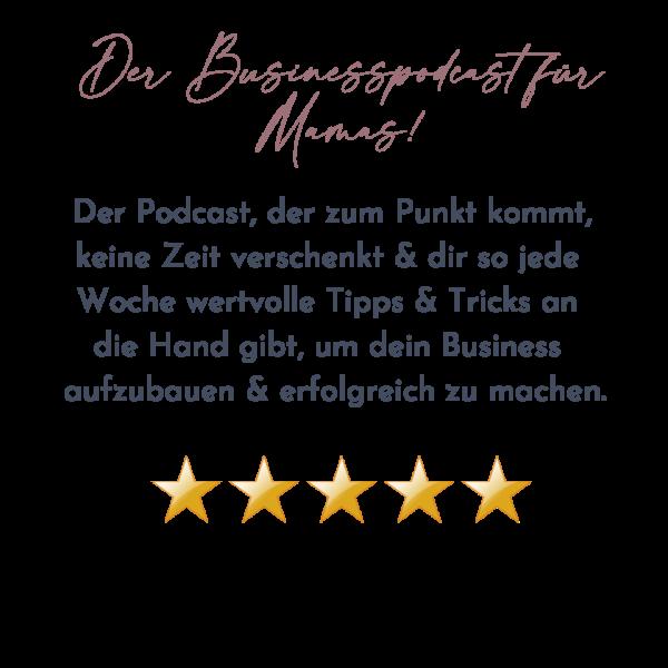Kopie von Der Businesspodcast für Mamas!